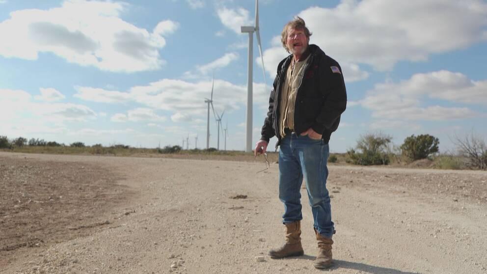 """Texas kände oljeman Mike """"Rooster"""" McConaughey, satsar på förnybar energi."""