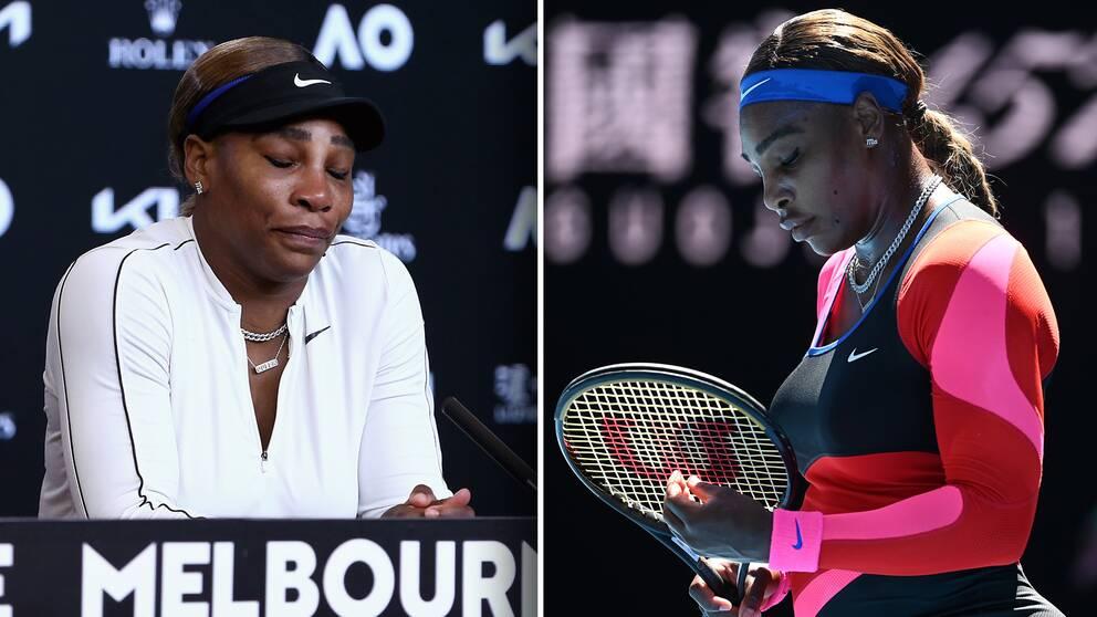 Naomi Osaka slog ut Serena Williams, som var i tårar efteråt.