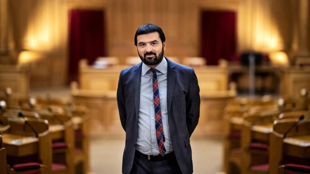 Ali Esbati, riksdagsledamot Vänsterpartiet