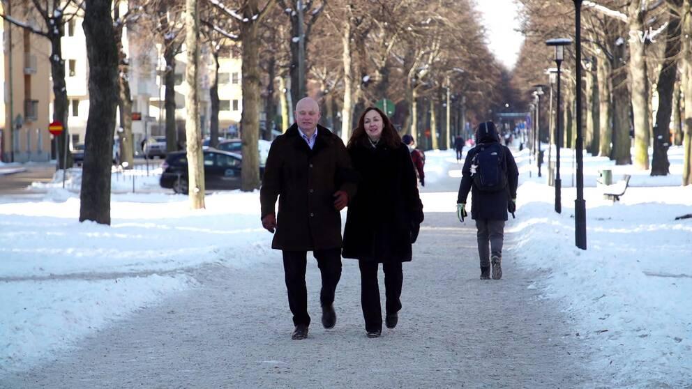 Snart går flytten från huvudstaden till Värmland för Werner och Kristina Kleinert.