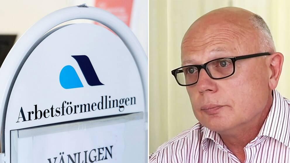 Anders Wallentin, chef på Arbetslivresurs, tillbakavisar att det skulle råda en norm om tio deltagare per halvtid inom organisationen.