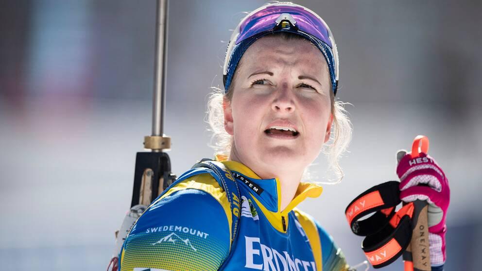 Johanna Skottheim besviken efter stafetten