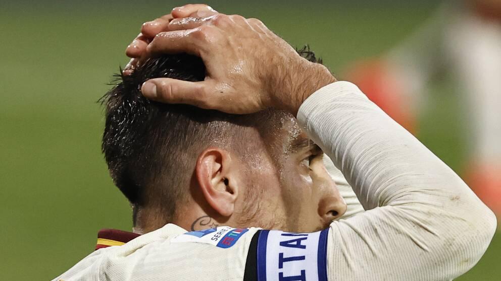Lorenzo Pellegrinis Roma tappade oväntat poäng mot Benevento.