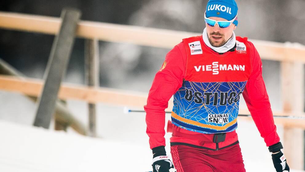 Sergej Ustiugov har fått en mardrömsuppladdning inför VM