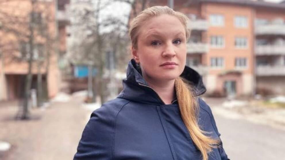 Stockholms stads oppositionsborgarråd Clara Lindblom (V)