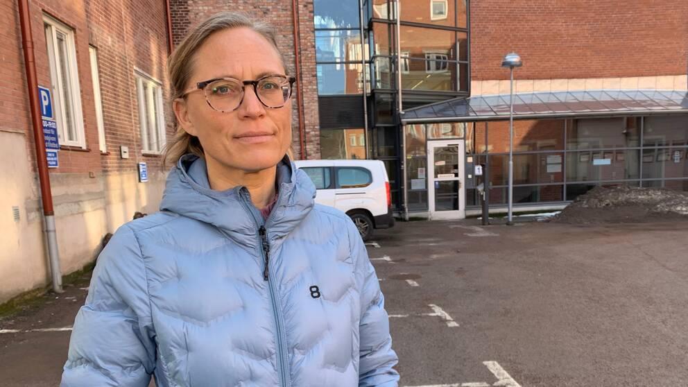Maria Löfgren, biträdande smittskyddsläkare på Region Halland.