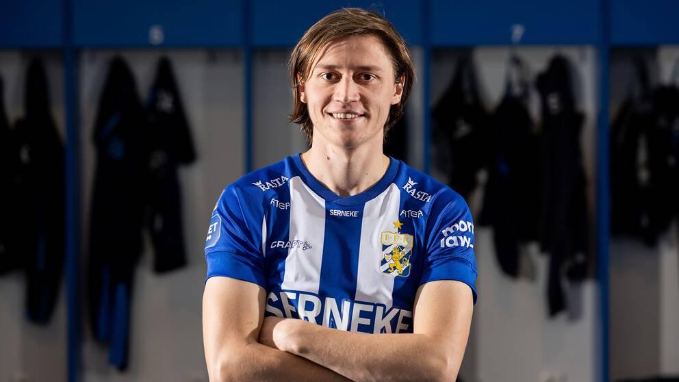 Simon Thern är klar för IFK Göteborg.