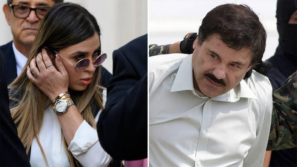 "Emma Coronel Aispuro/Joaquín ""El Chapo"" Guzman"