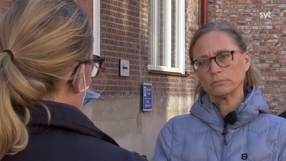 Maria Löfgren, biträdande smittskyddsläkare.