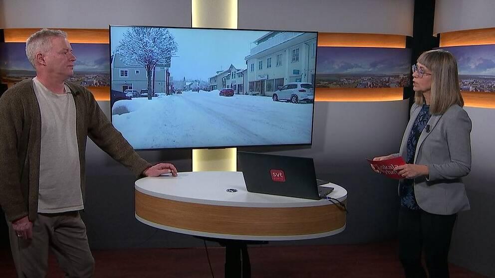 SVT:s reporter Hans Lindblom.
