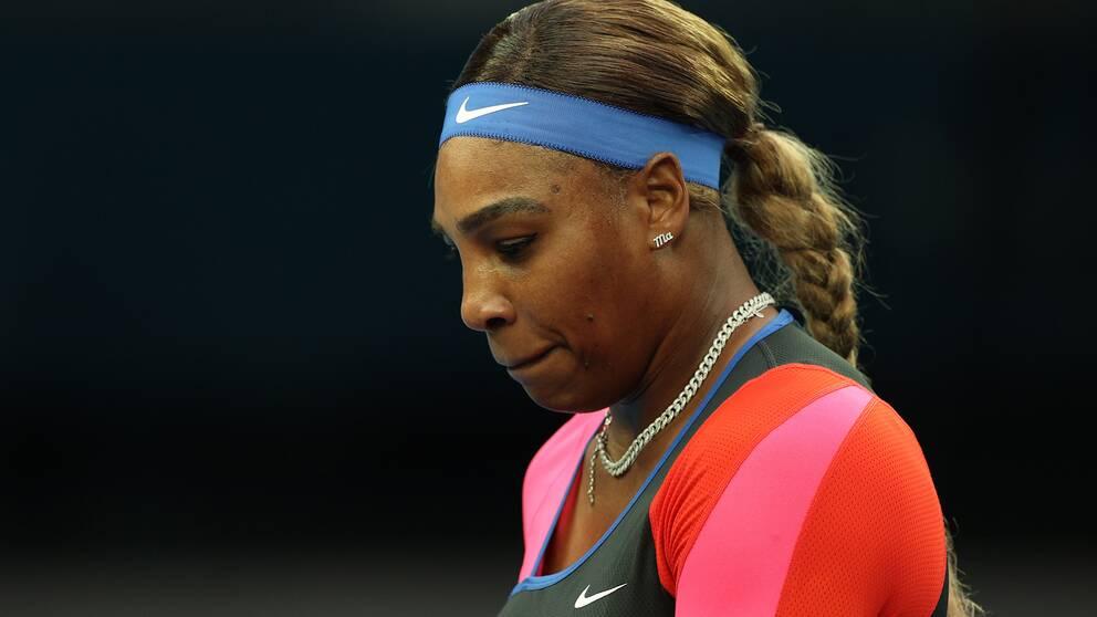 Serena Williams var en av många som uttryckte stöd till Tiger Woods efter olyckan.