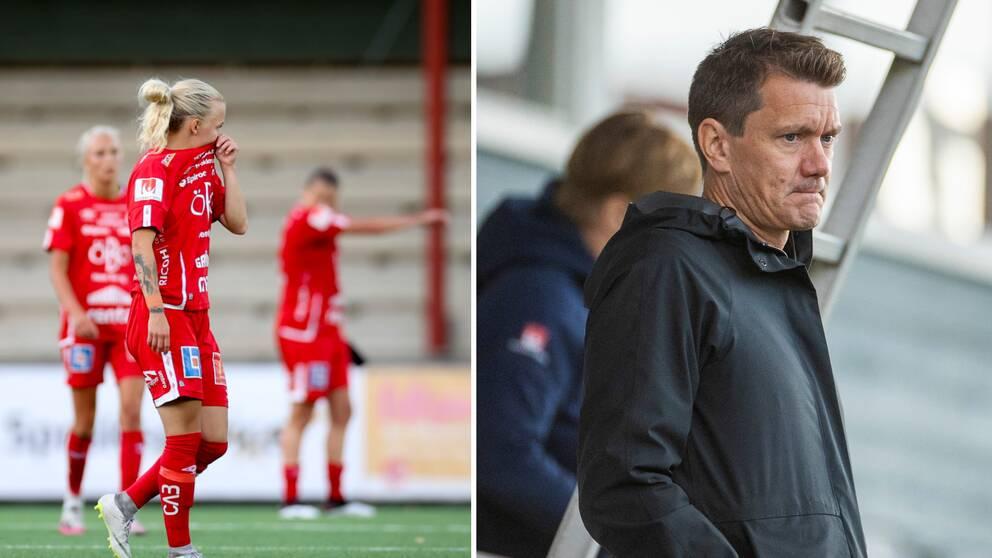 Stefan Alvén sportchef för Elitfotbolldam arbetar med olika skadeförebyggande åtgärder.