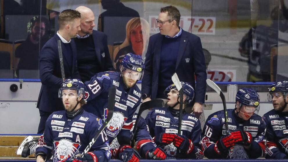 Linköpings ordförande Roger Ekström vill att den högsta hockeyligan stängs för nedflyttning.