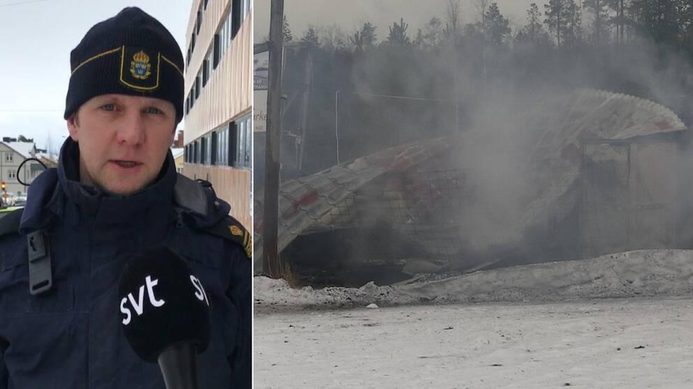 Kommunpolis Rickard Hagström