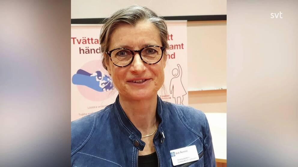 Britt Åkerlind, smittskyddsläkare Region Östergötland