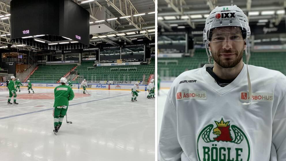 Mattias Sjögren, Rögle BK, lagkapten, hockey, Rögle