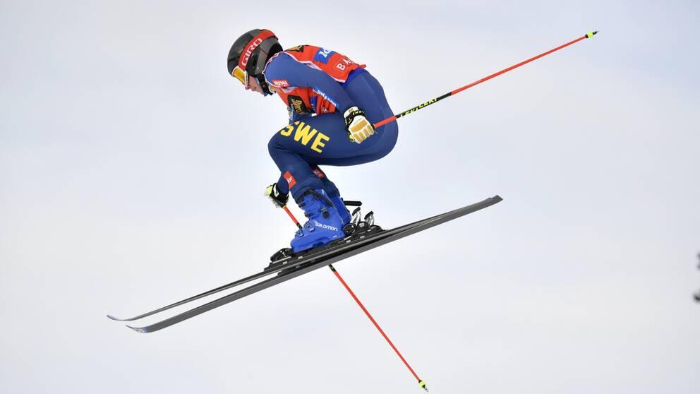 Sandra Näslund säkrade komfortabelt en plats till lördagens världscuptävling.
