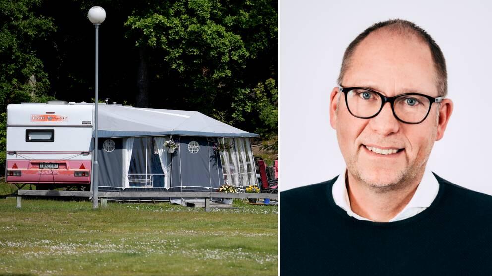 Thomas Eriksson på Framåt Västervik hoppas på en återupprepning av 2020 – i alla fall gällande tillväxten av svenska turister till Västervik.