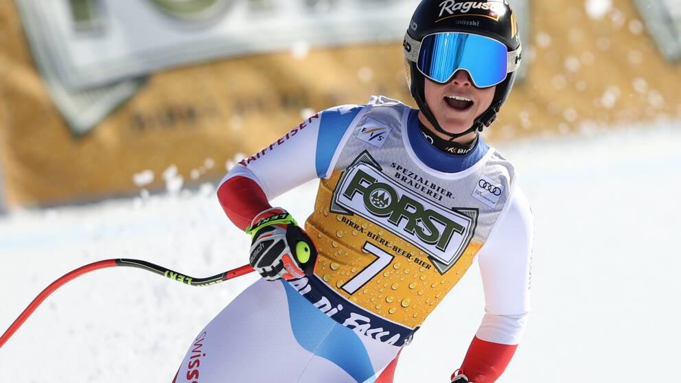 Gut-Behrami vann första tävlingen efter VM.