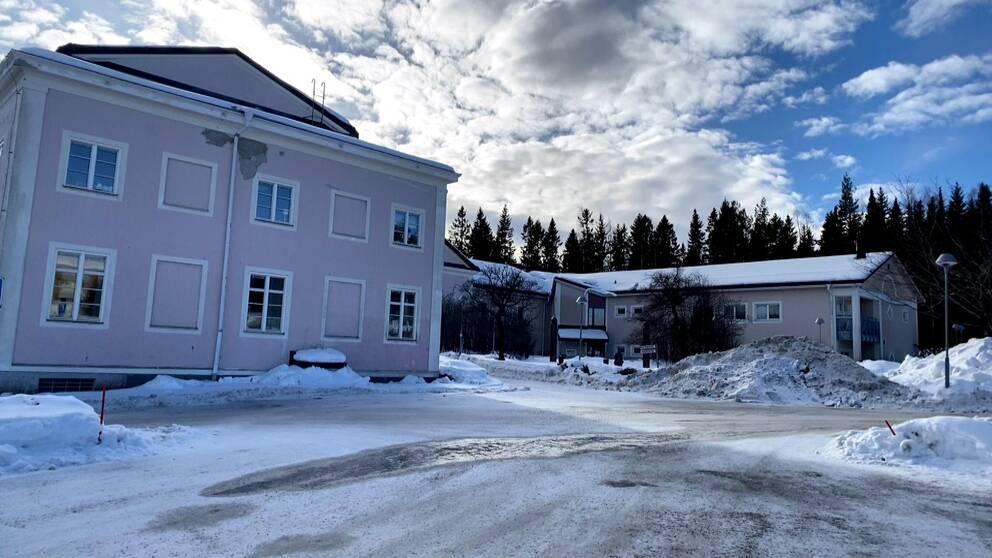 Byggnaden där psykiatrin i Örnsköldsvik ligger.