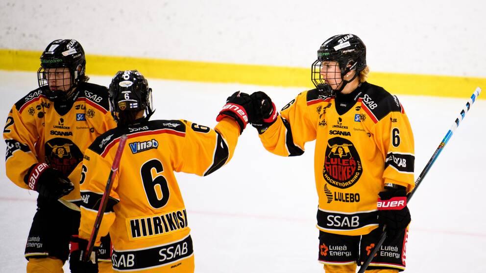 Luleå vann den första kvartsfinalen borta mot AIK.