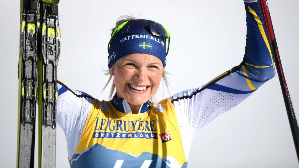 Frida Karlsson tog ännu ett VM-silver.