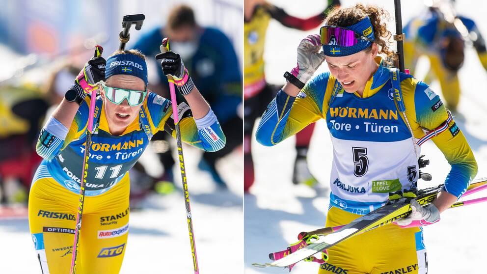 Elvira och Hanna Öberg.