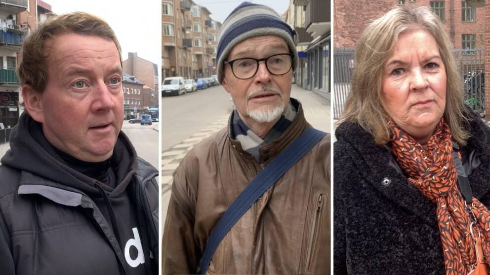Henrik Skärsäter, Krister Ahlstrand och Carina Petersson.