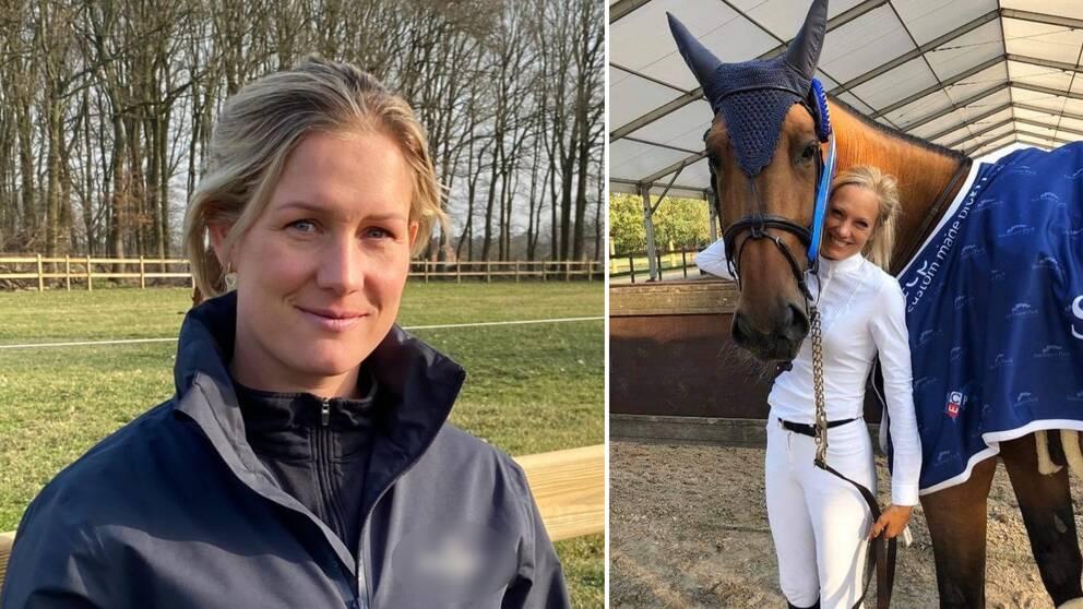 Angelica Augustsson och Sofia Westborg, hallänningar på plats i smittdrabbat Belgien.