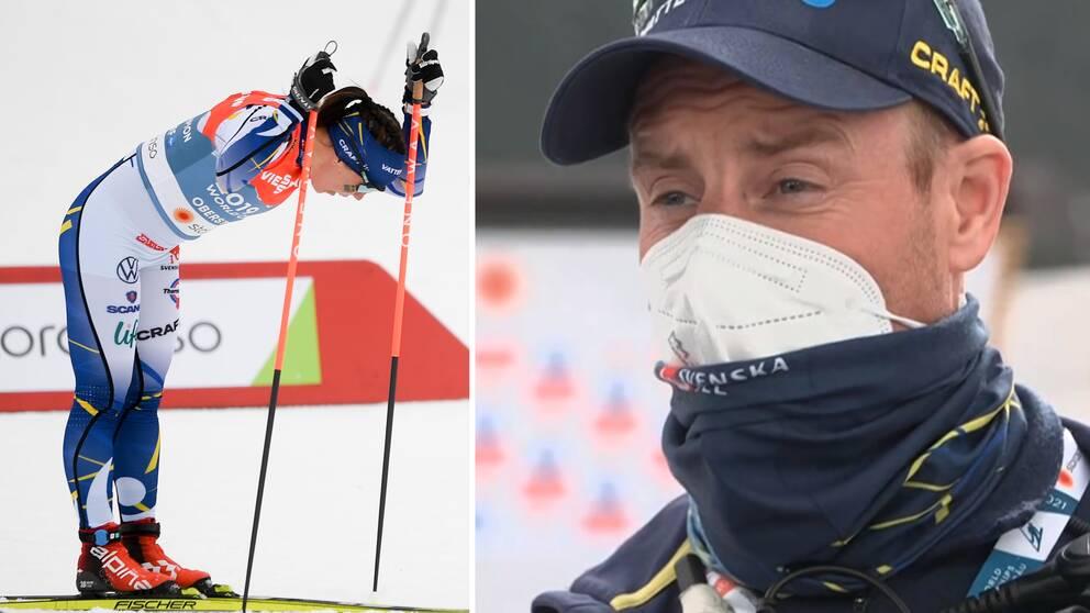 Vallachefen Petter Myhlback var ledsen efter stafetten.