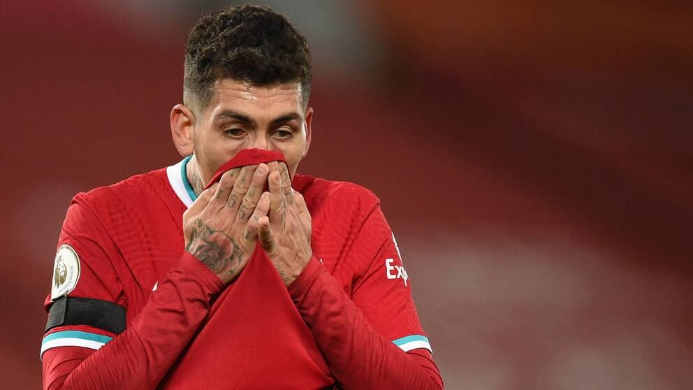 Liverpools Roberto Firmino.