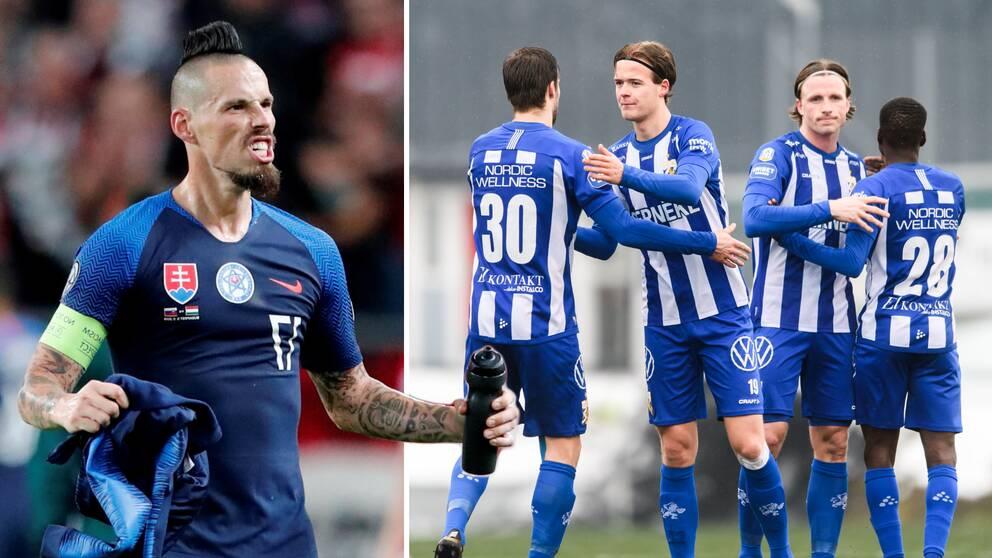 Marek Hamsik ryktas till IFK Göteborg.