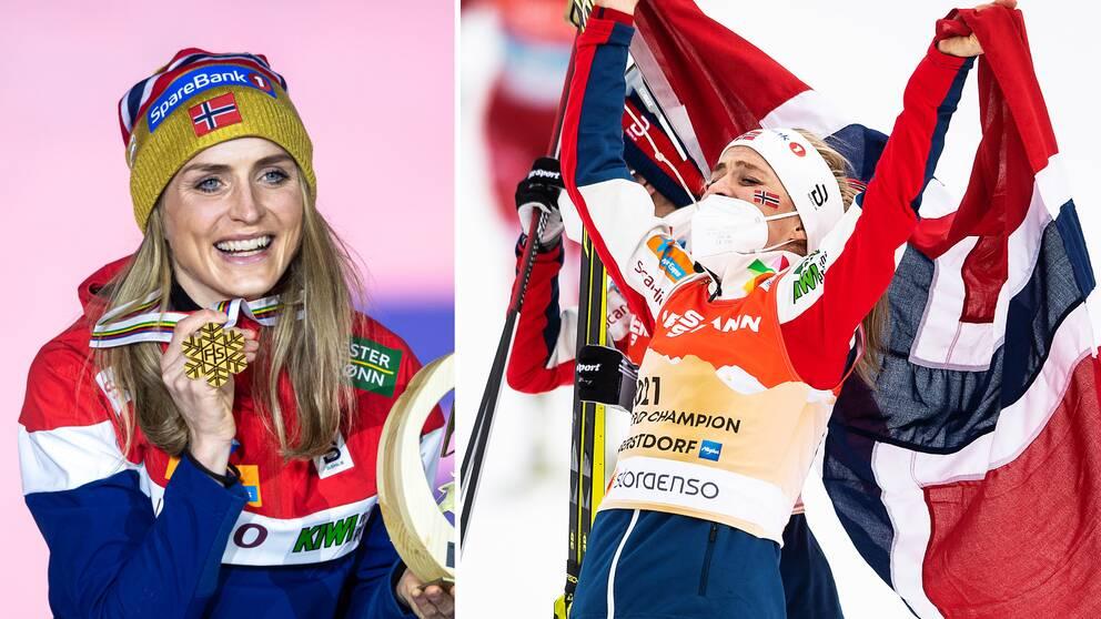 På lördag kan Johaug ta sitt fjärde VM-guld i Oberstdorf.