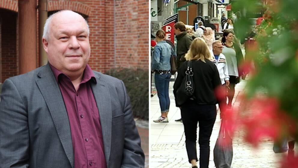 Sölvesborgs kommunchef Lars Ericsson, befolkning
