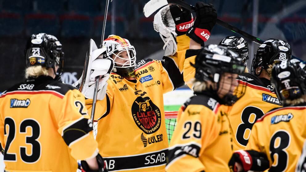 Luleå är en seger från final.