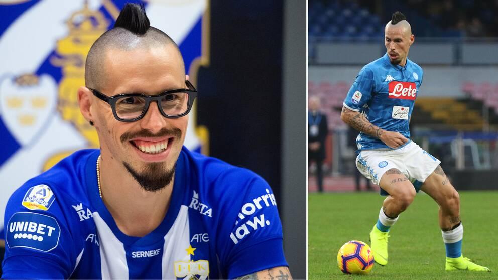 IFK Göteborgs nya värvning av Marek Hamsik.