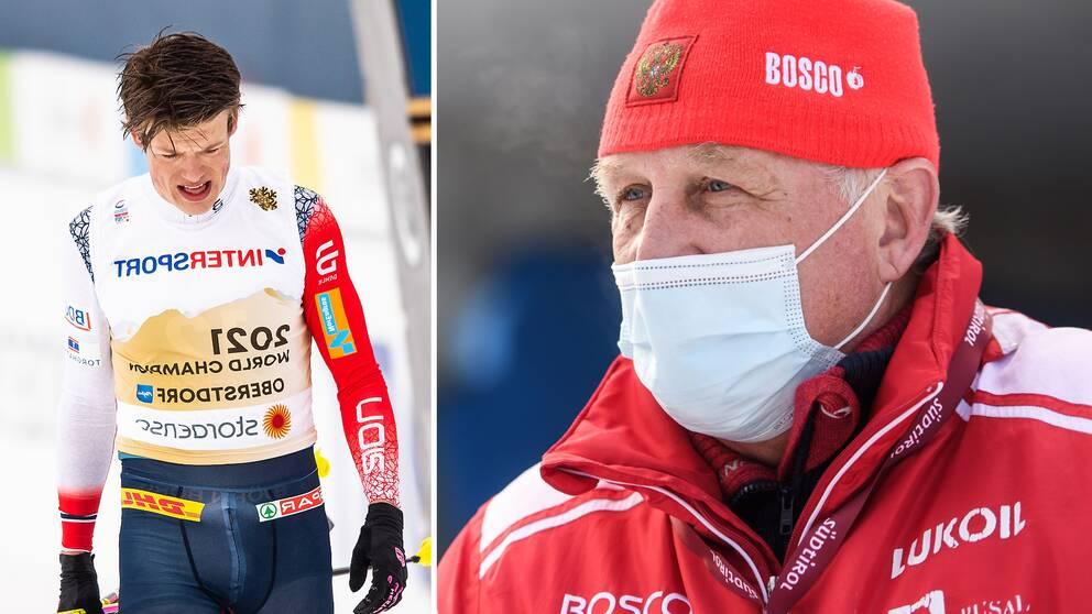 Ryske tränaren Jurij Borodavko.