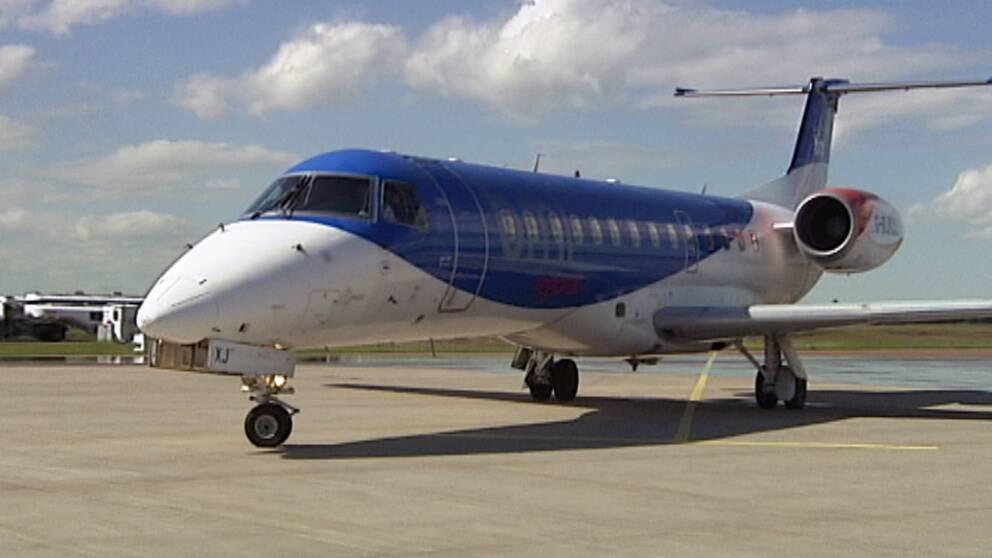 Flygplan nodlandade i goteborg