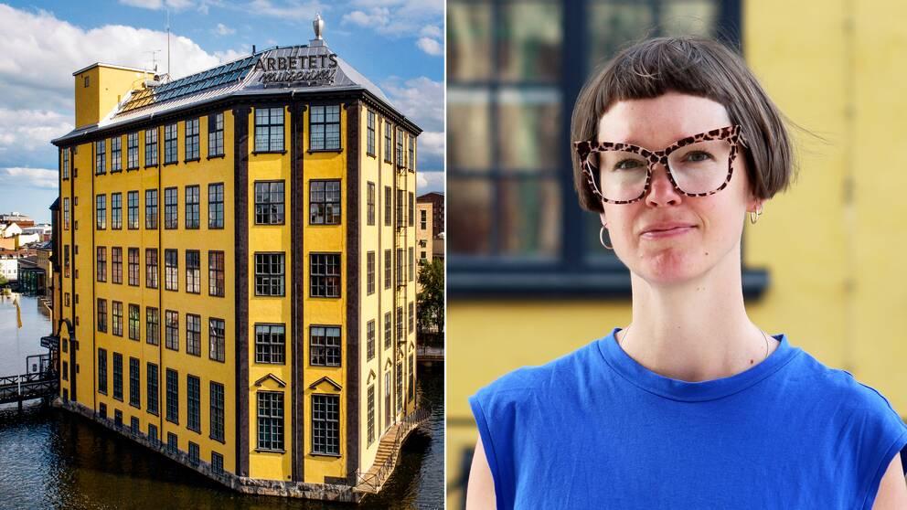 Johanna Haverlind, utställningschef Arbetets Museum, Norrköping