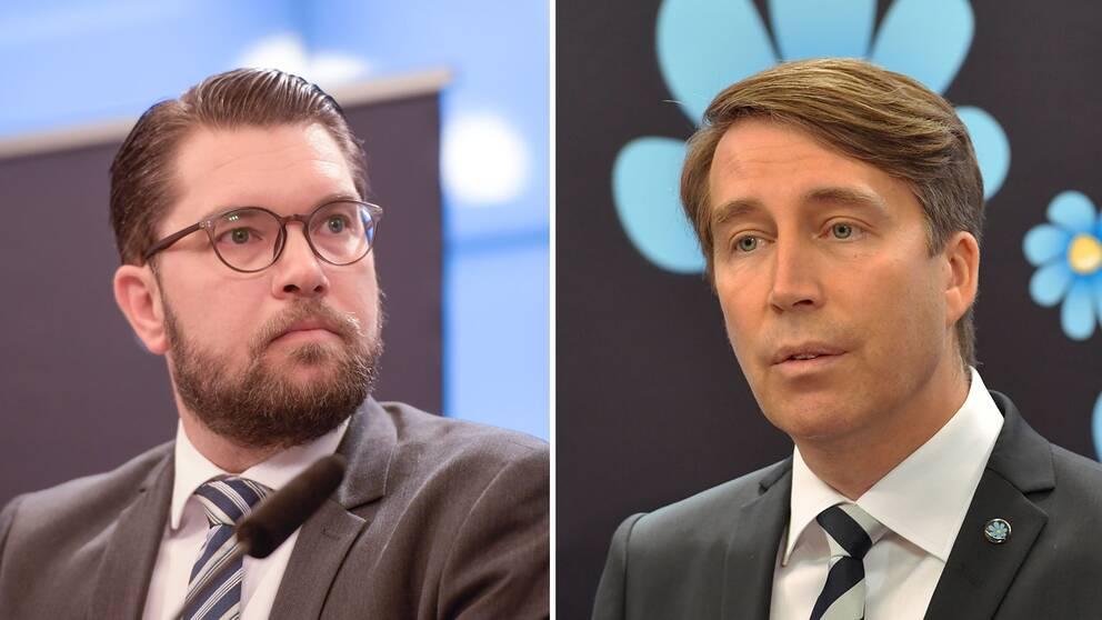 Jimmie Åkesson och Richard Jomshof