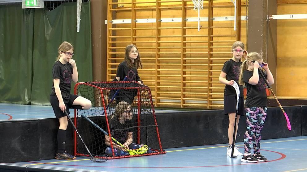 Innebandytjejer i Åtvidaberg