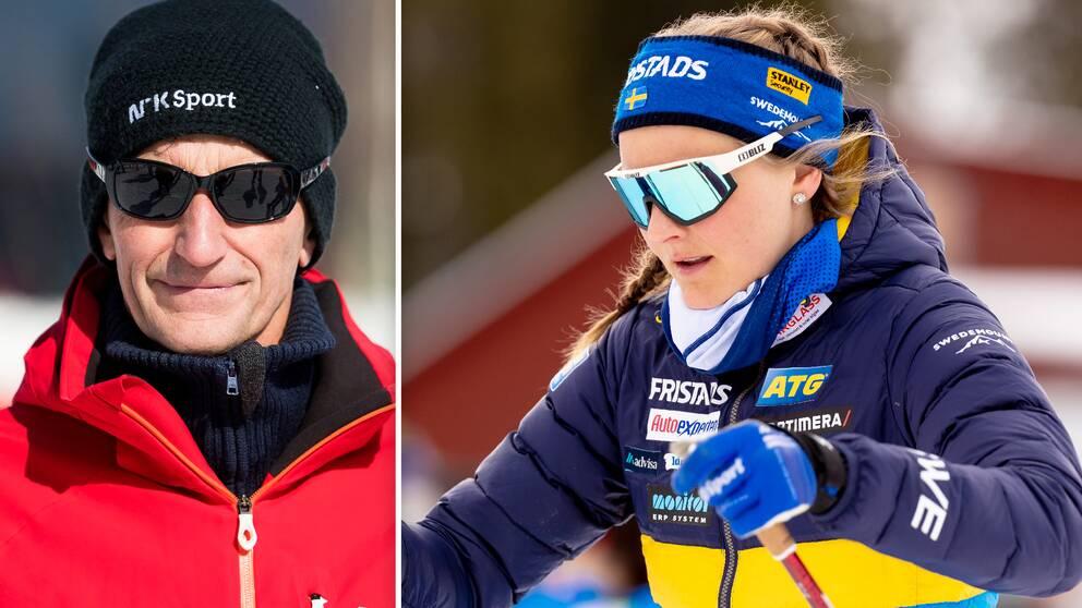 Ola Lunde tycker inte att Stina Nilsson presterat tillräckligt för att få starta i världscupen.