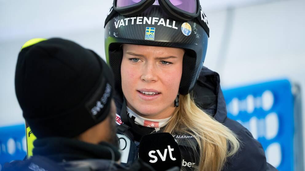 Lisa Hörnblad har missat de senaste två säsongerna på grund av sin senskada.