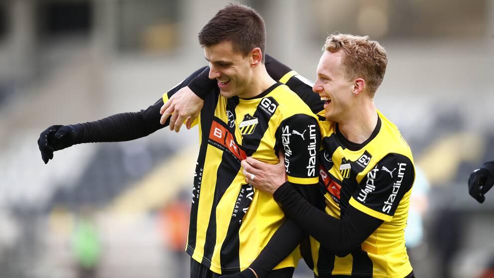 BK Häcken slog ut Västerås.