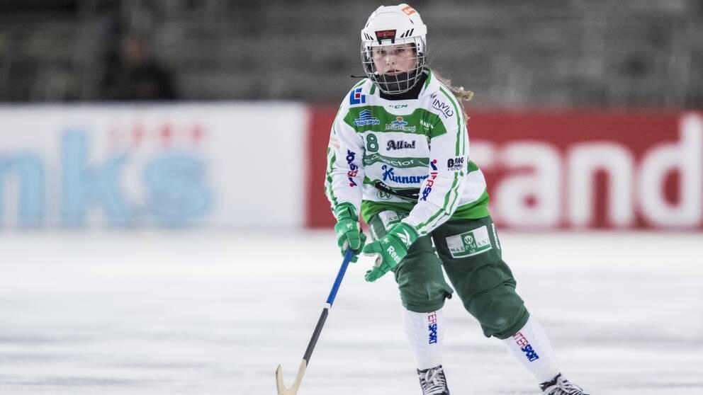 Charlotte Selbekk kan bli historisk med VSK på lördag.