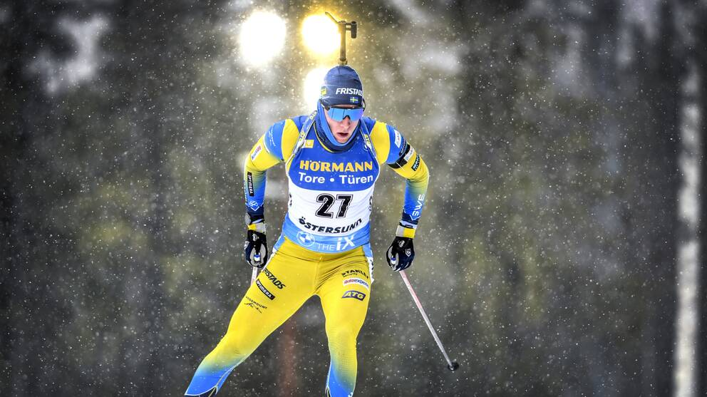 Sebastian Samuelsson vann SM-guld i masstart.
