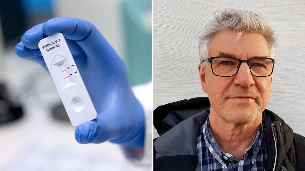 Hans Boman, ansvarig smittskyddsläkare i Region Västernorrland