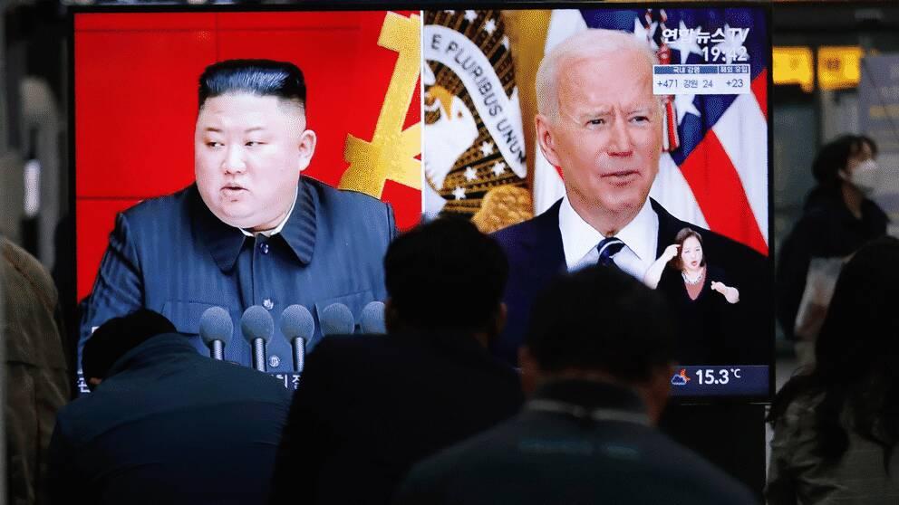 Nordkoreas ledare Kim Jong Un kan förvänta sig en ny attityd från USA och president Joe Biden.