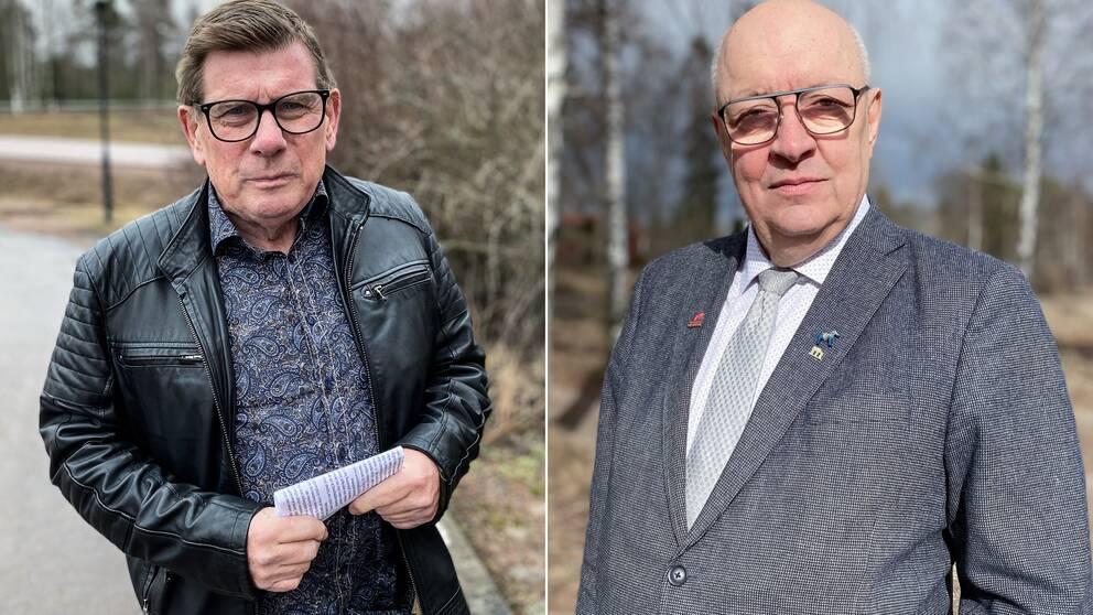 Delad bild på Ulf Berg och Sören Bertilsson.
