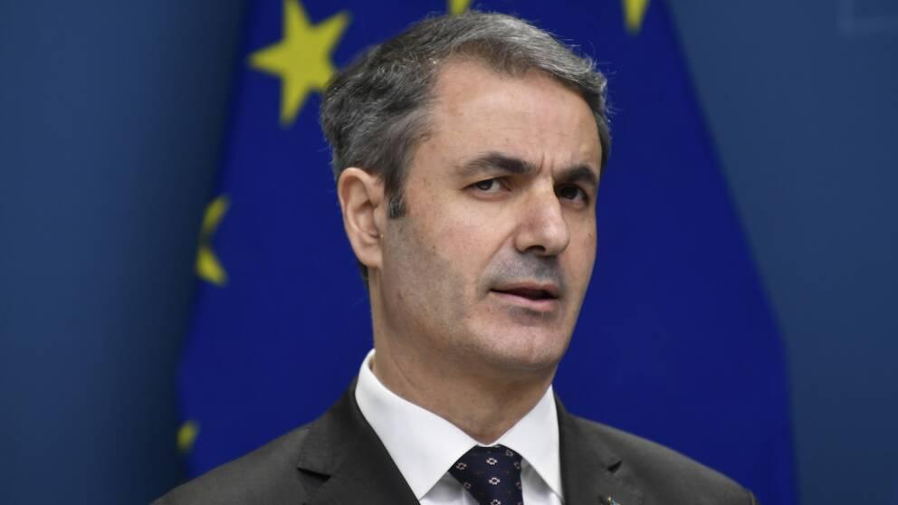 Näringsminister Ibrahim Baylan (S)